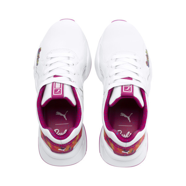 Nova x Barbie Flash Women's Trainers, Puma White-CABARET, large