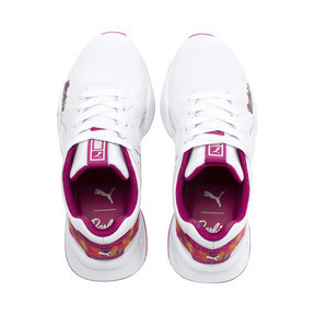 Thumbnail 6 of Nova x Barbie Flash Women's Sneakers, Puma White-CABARET, medium