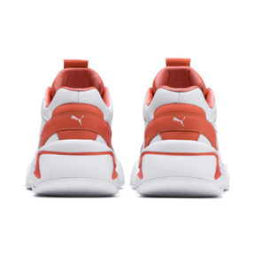 Thumbnail 3 of PUMA x PANTONE Nova 2 Women's Trainers, Puma White-Living Coral, medium
