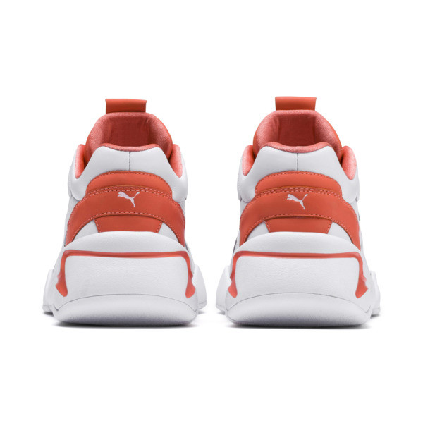 PUMA x PANTONE Nova 2 Damen Sneaker, Puma White-Living Coral, large