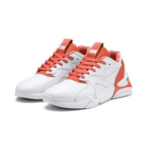 Thumbnail 2 of PUMA x PANTONE Nova 2 Women's Trainers, Puma White-Living Coral, medium