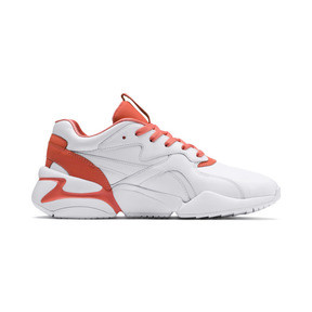 Thumbnail 5 of PUMA x PANTONE Nova 2 Women's Trainers, Puma White-Living Coral, medium