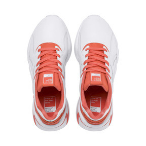 Thumbnail 6 of PUMA x PANTONE Nova 2 Women's Trainers, Puma White-Living Coral, medium