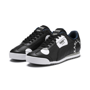 Thumbnail 2 of PUMA x KARL LAGERFELD Roma Trainers, Puma Black, medium