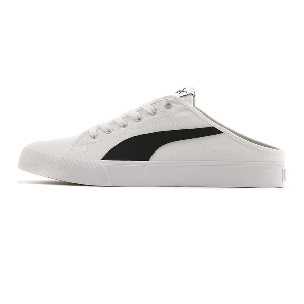 プーマ バリ ミュール サンダル, Puma White-Puma Black, large-JPN