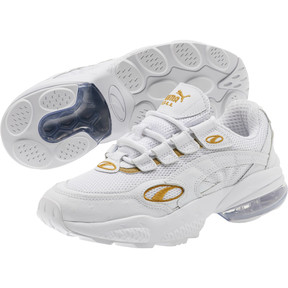 Thumbnail 2 of CELL Venom WO Women's Sneakers, Puma White-Puma Team Gold, medium