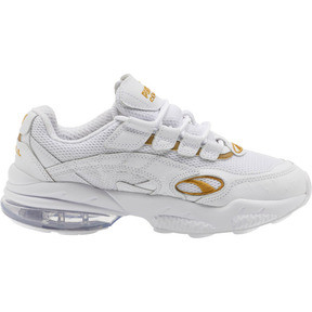 Thumbnail 4 of CELL Venom WO Women's Sneakers, Puma White-Puma Team Gold, medium