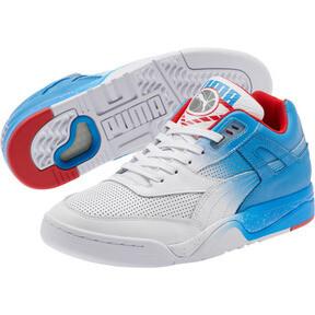 Miniatura 2 de Zapatos deportivos Palace Guard Retro, White-Indigo-Red, mediano