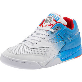 92ba7cbfb7 Palace Guard Retro Sneakers, White-Indigo-Red, medium