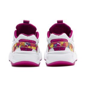 Thumbnail 3 of PUMA x BARBIE Nova Flash Kid Girls' Trainers, Puma White-CABARET, medium