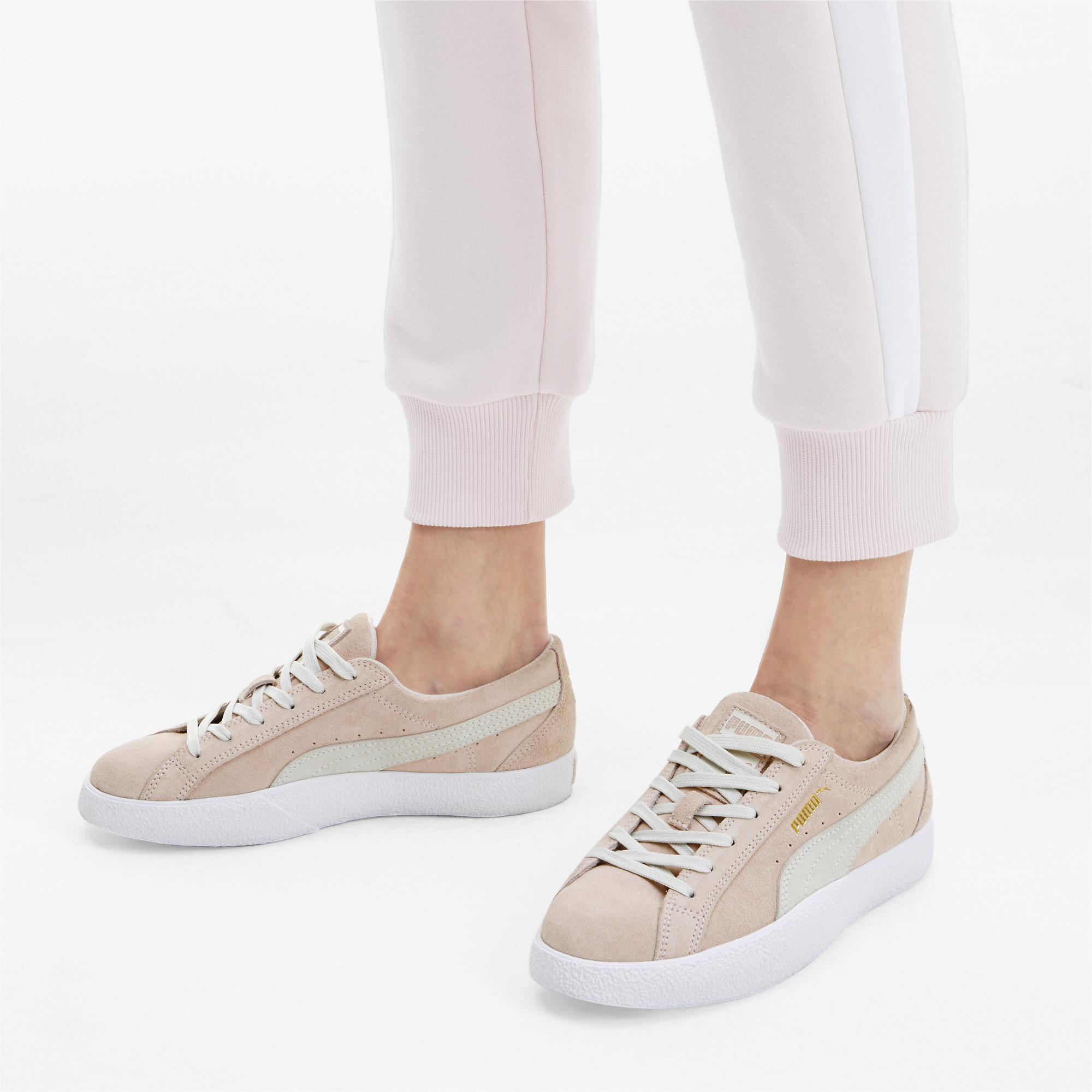 PUMA-Women-039-s-Love-Suede-Sneakers thumbnail 5