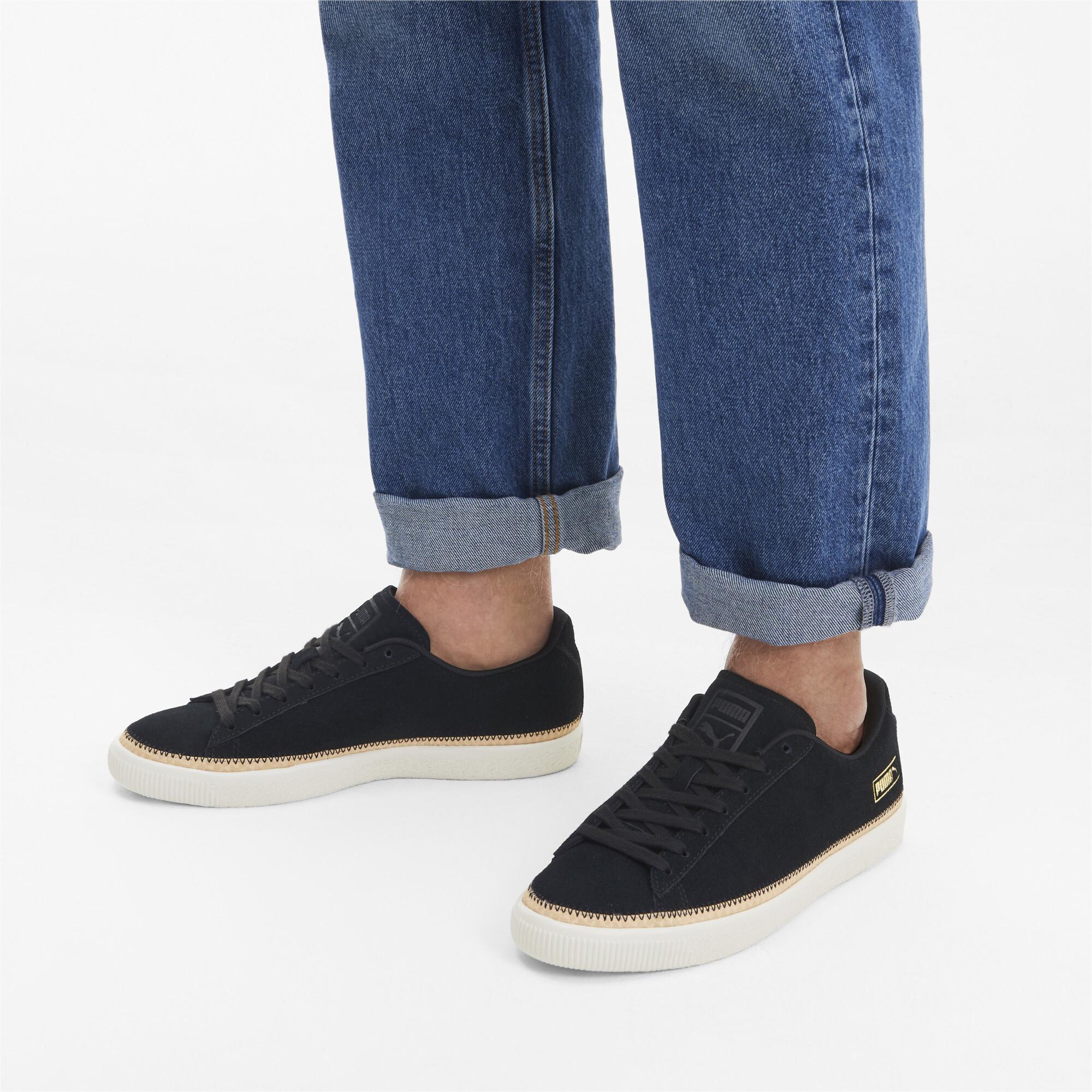 PUMA-Men-039-s-Suede-Trim-DLX-Sneakers thumbnail 19