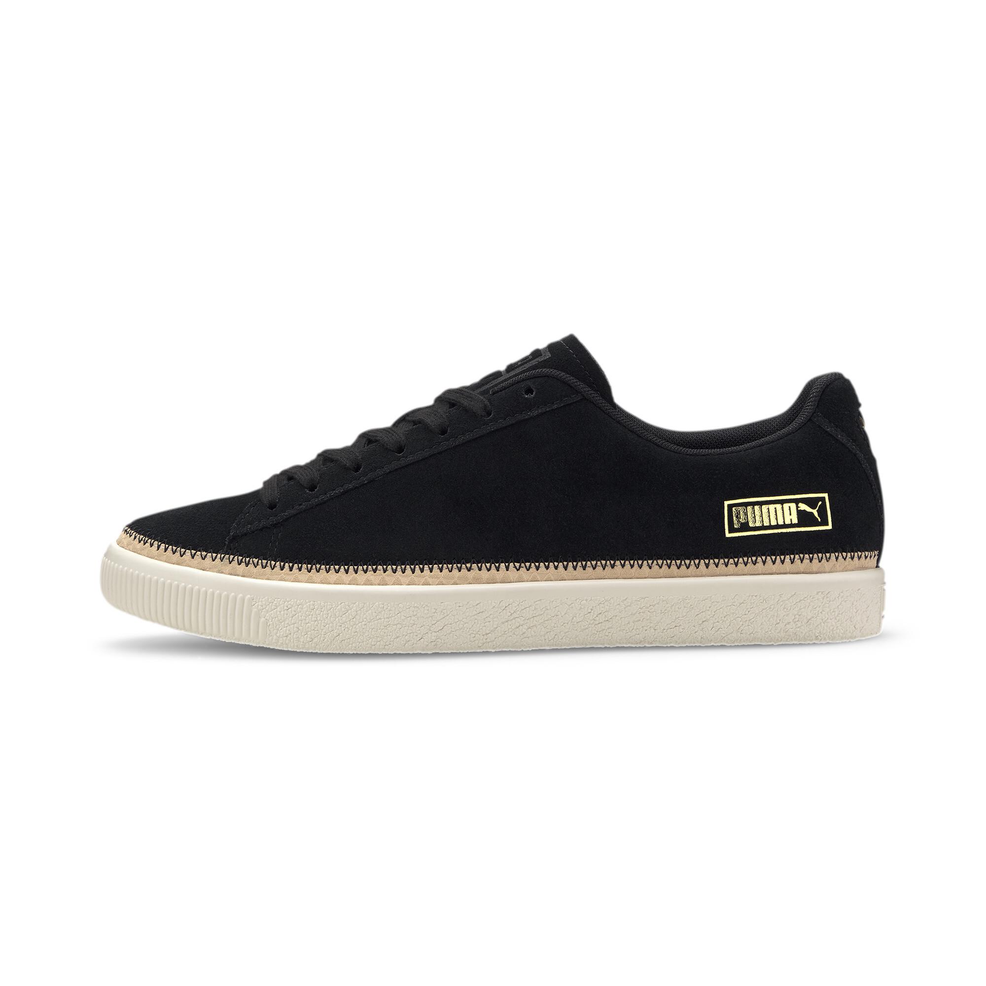 PUMA-Men-039-s-Suede-Trim-DLX-Sneakers thumbnail 18