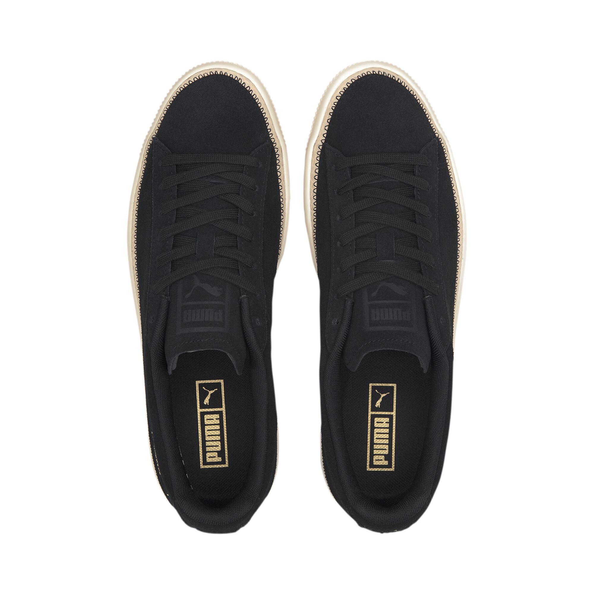 PUMA-Men-039-s-Suede-Trim-DLX-Sneakers thumbnail 22