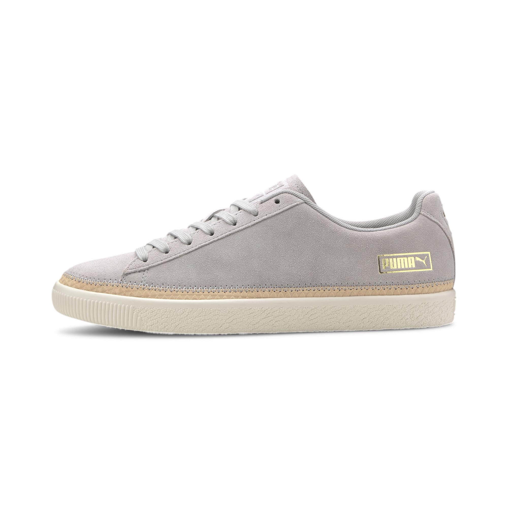 PUMA-Men-039-s-Suede-Trim-DLX-Sneakers thumbnail 4