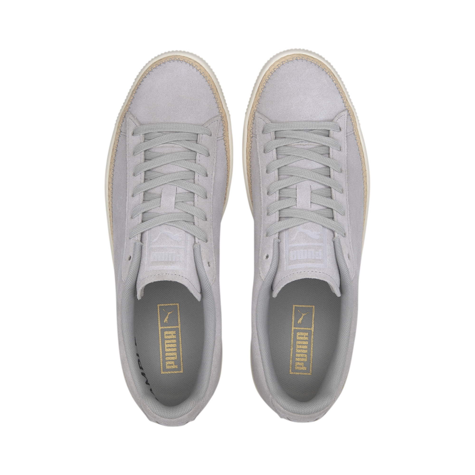 PUMA-Men-039-s-Suede-Trim-DLX-Sneakers thumbnail 8