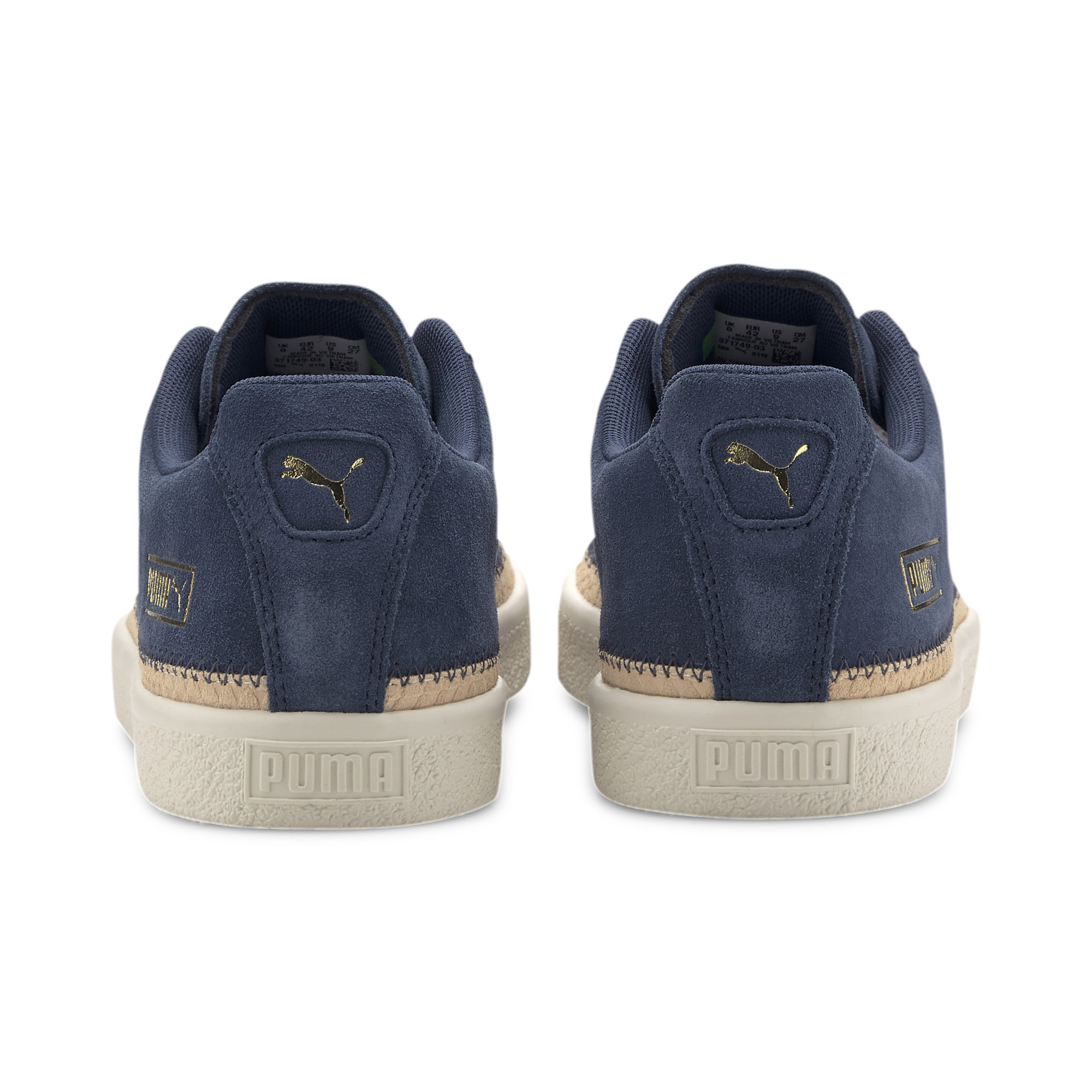PUMA-Men-039-s-Suede-Trim-DLX-Sneakers thumbnail 10