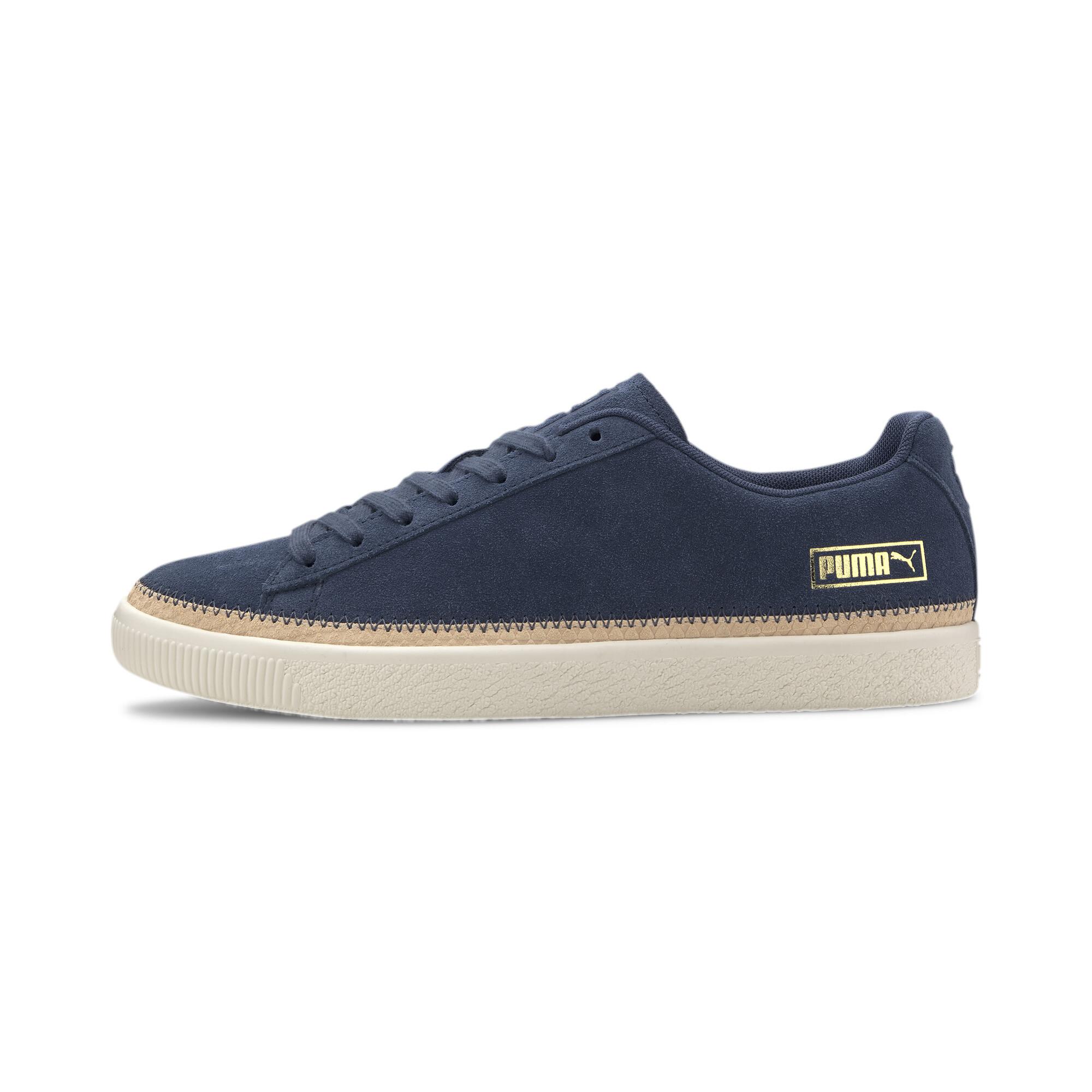 PUMA-Men-039-s-Suede-Trim-DLX-Sneakers thumbnail 11