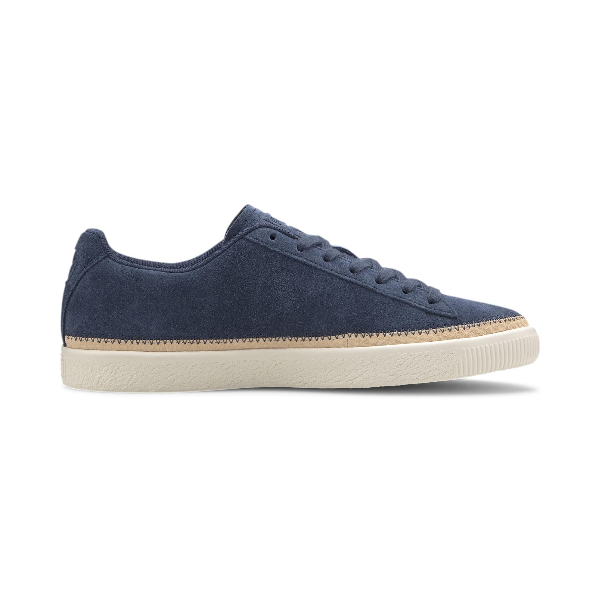 PUMA-Men-039-s-Suede-Trim-DLX-Sneakers thumbnail 14