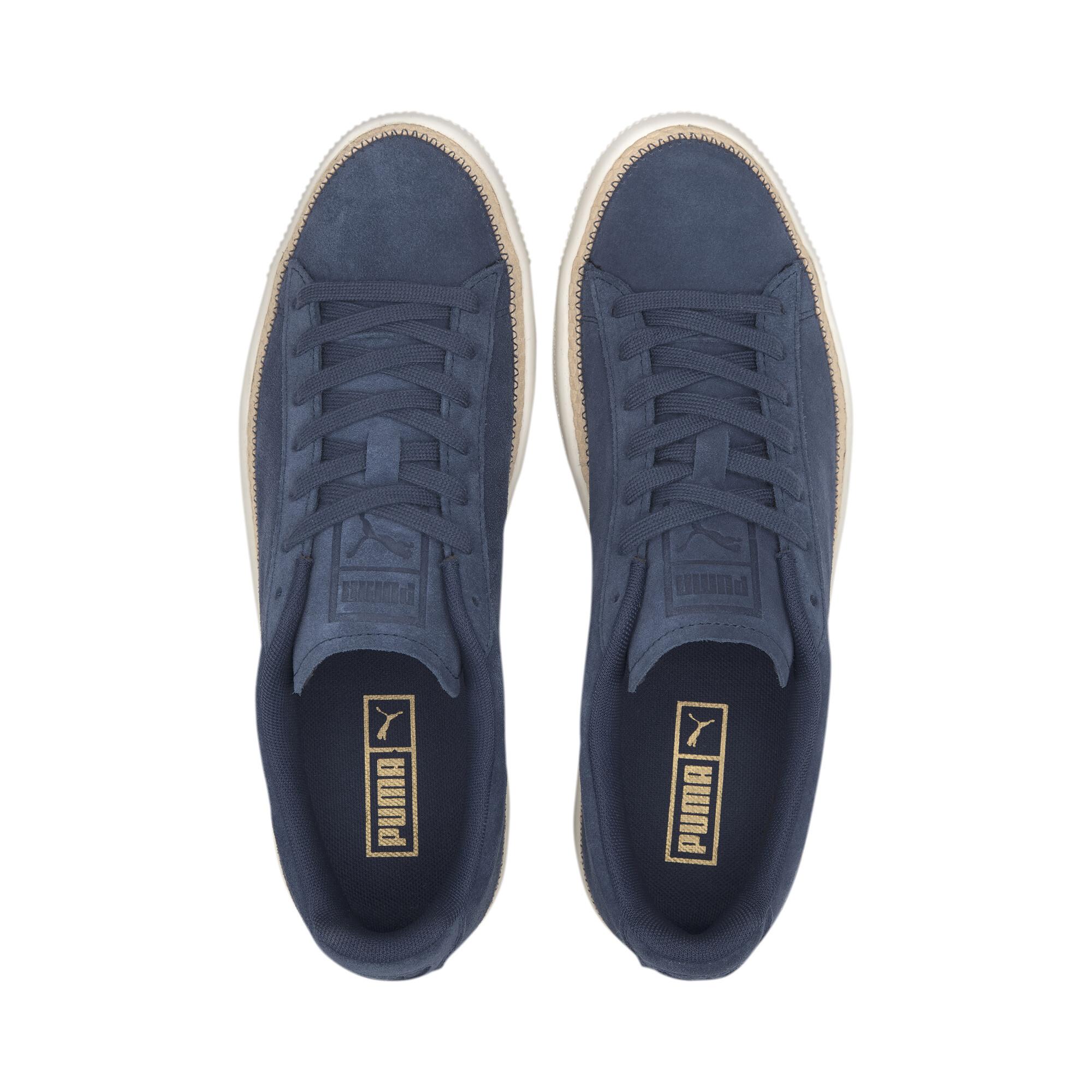PUMA-Men-039-s-Suede-Trim-DLX-Sneakers thumbnail 15