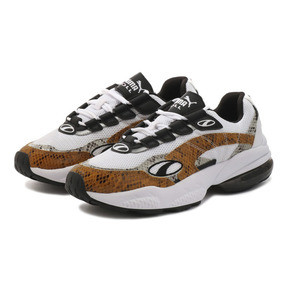 Thumbnail 2 of CELL VENOM アニマル キングダム スニーカー, Puma White-Golden Orange, medium-JPN