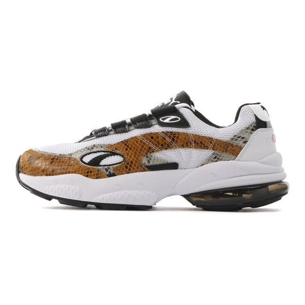 CELL VENOM アニマル キングダム スニーカー, Puma White-Golden Orange, large-JPN