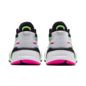 Thumbnail 3 of PUMA x MTV RS-X Tracks Yo! Raps Europe Trainers, Puma White-802 C Fluro Green, medium