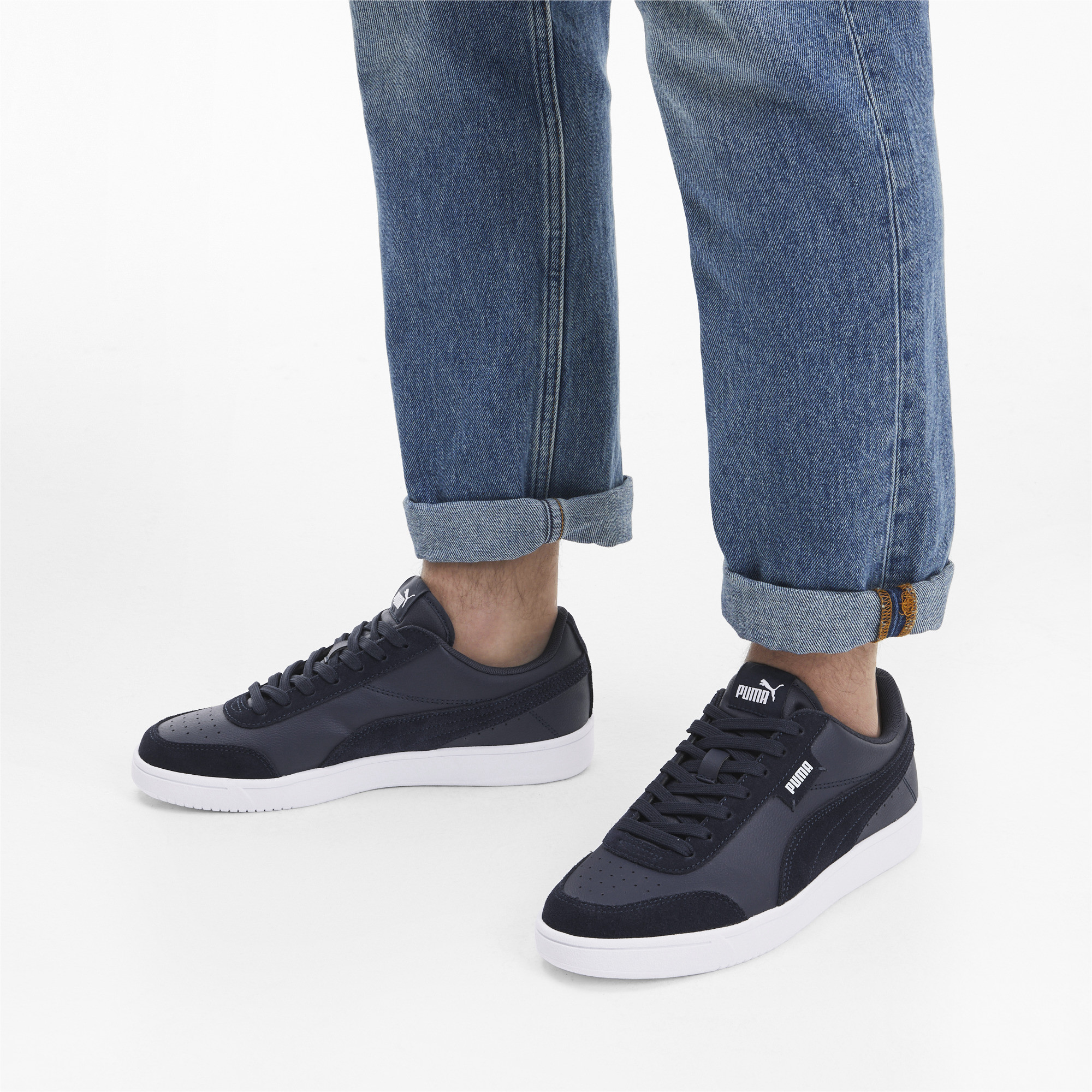 Indexbild 17 - PUMA Court Legend Lo Sneaker Unisex Schuhe Basics Neu