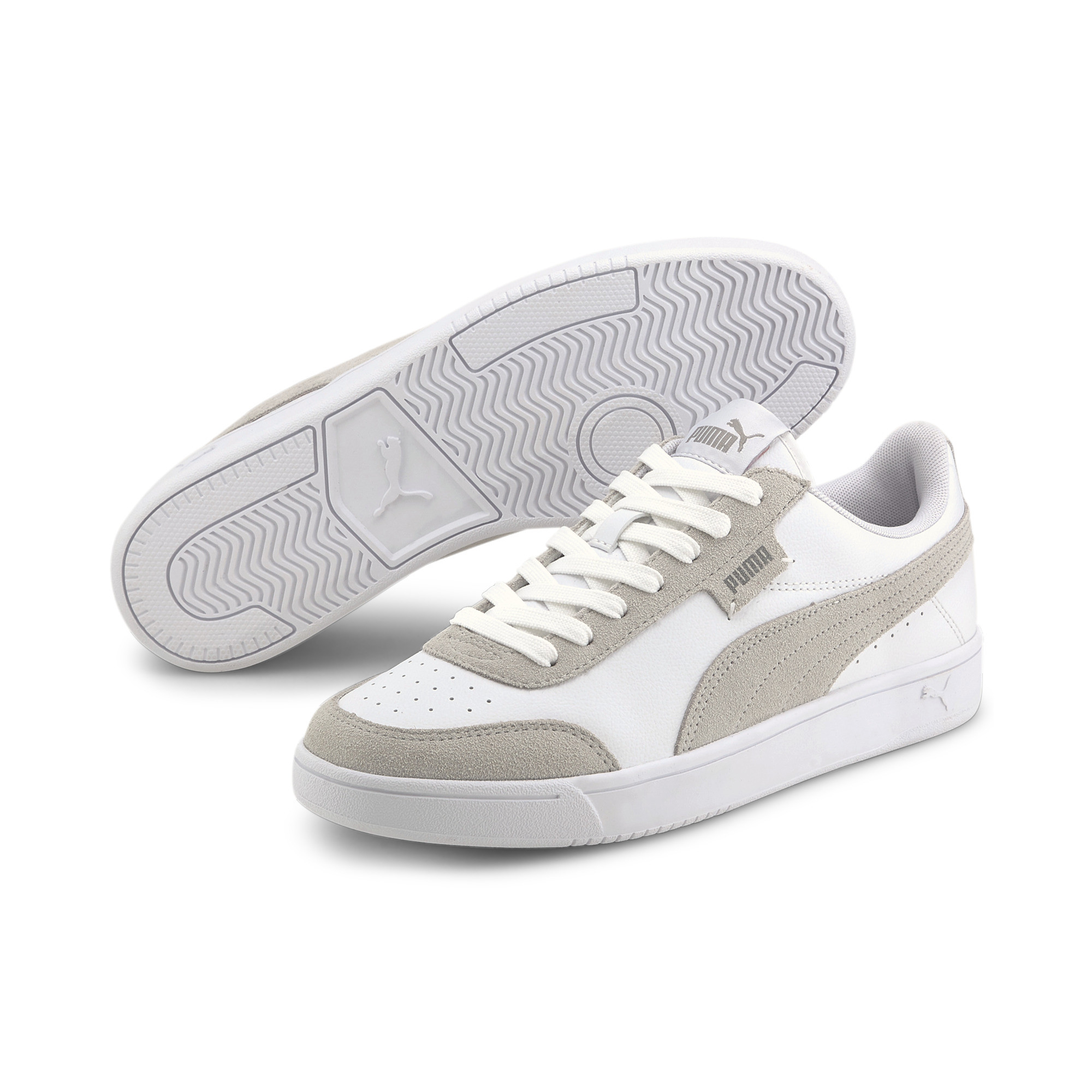 Indexbild 8 - PUMA Court Legend Lo Sneaker Unisex Schuhe Basics Neu