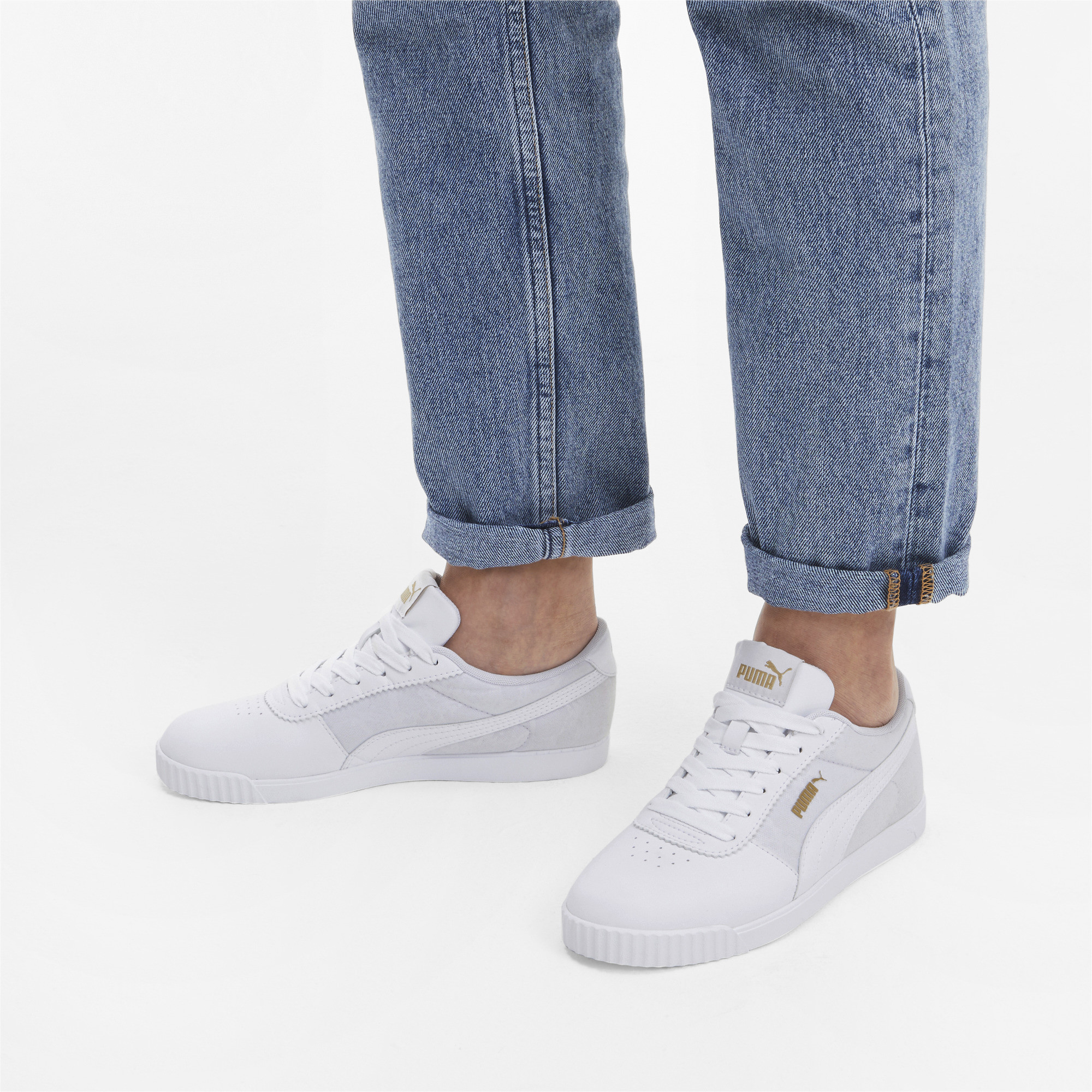 PUMA-Women-039-s-Carina-Slim-Veil-Sneakers thumbnail 5