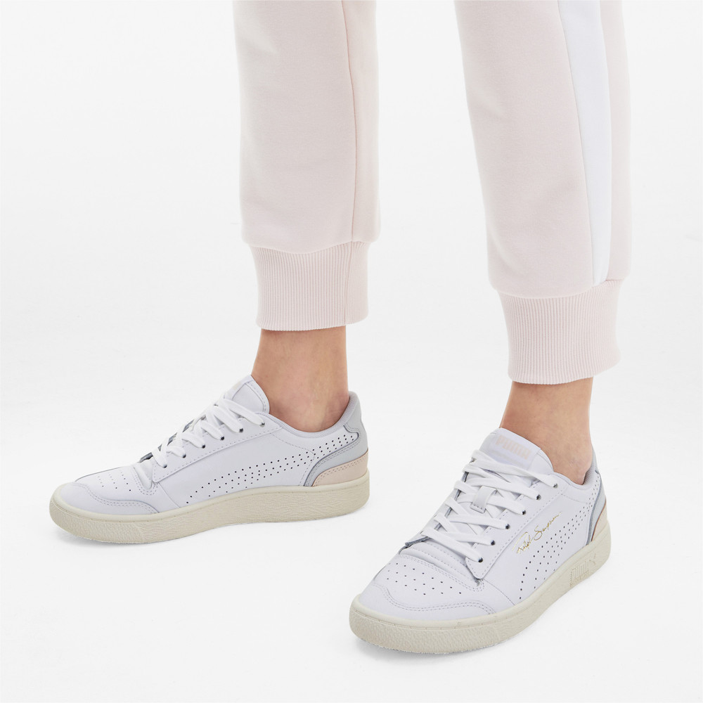Image PUMA Ralph Sampson Lo Perforated Soft Sneakers #2