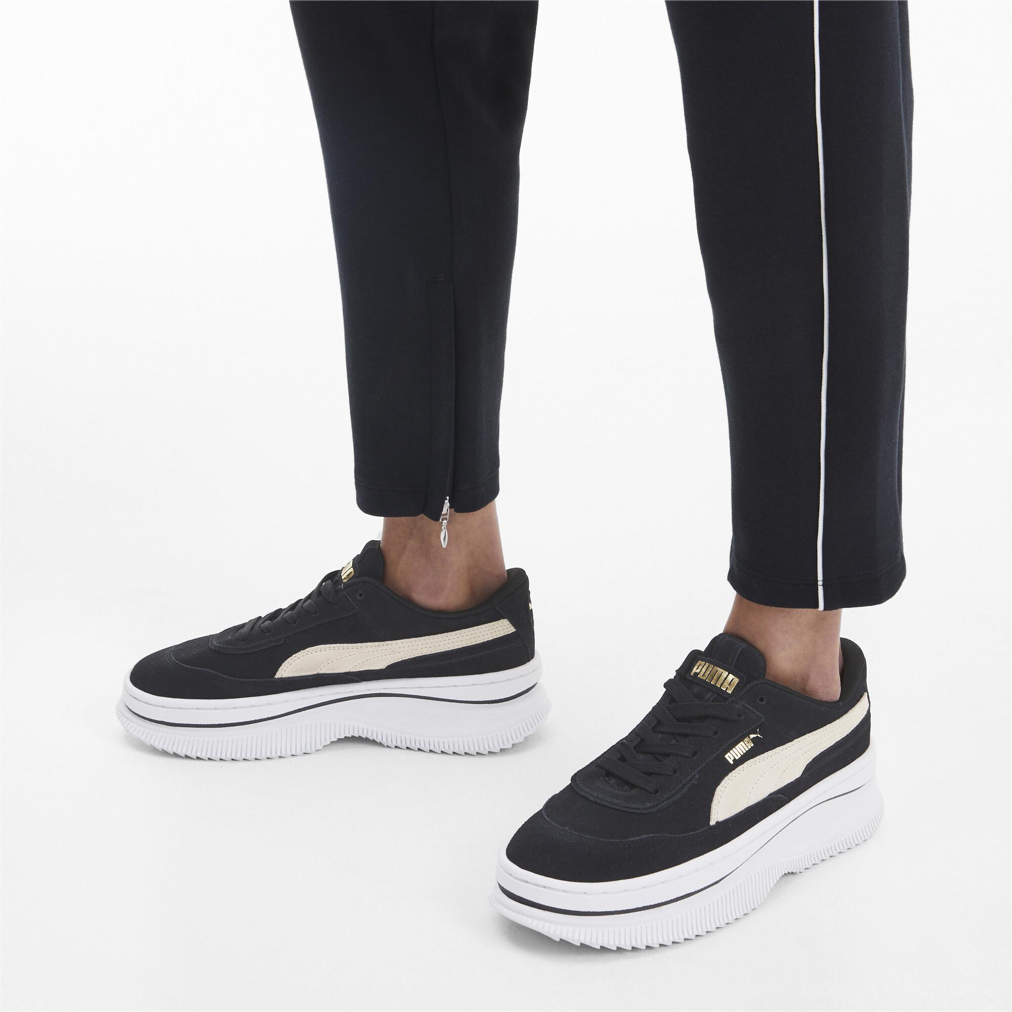 PUMA-Women-039-s-DEVA-Suede-Sneakers thumbnail 5