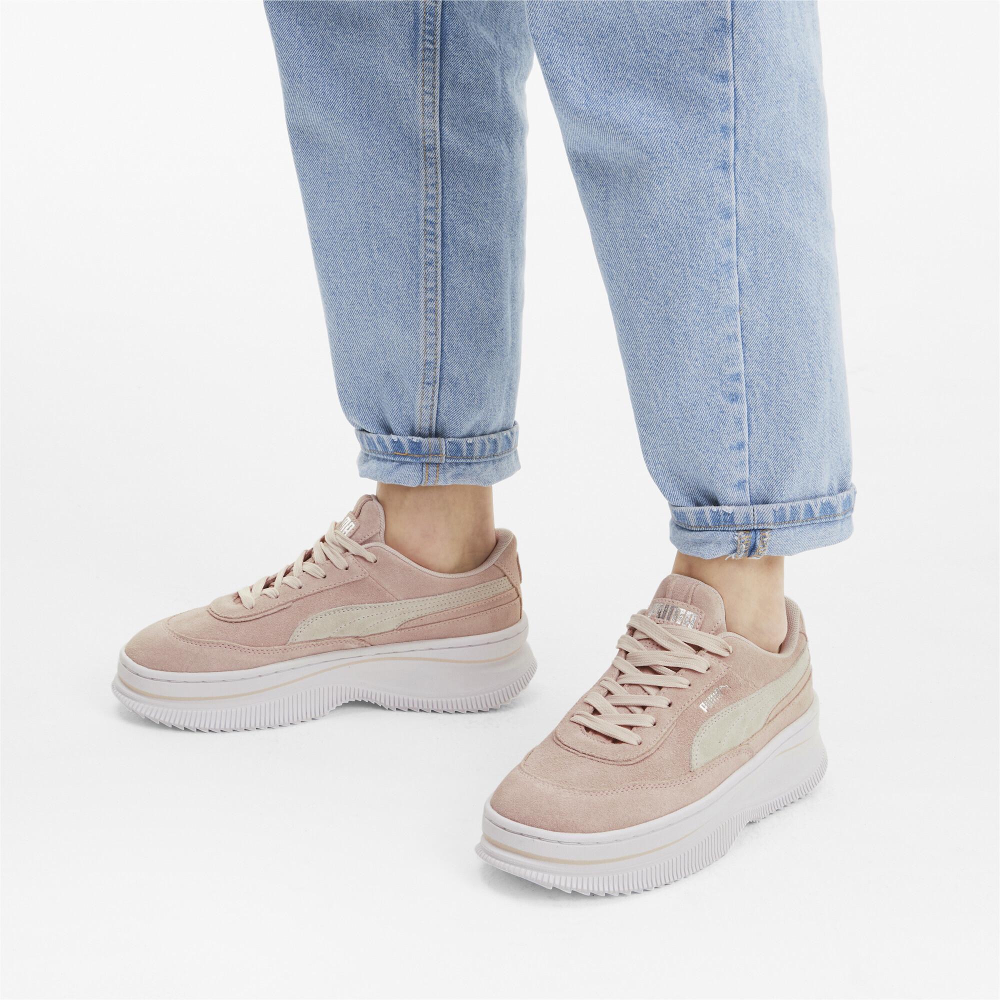 PUMA-Women-039-s-DEVA-Suede-Sneakers thumbnail 12
