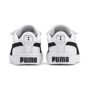 Thumbnail 3 of キッズ ガールズ SG x PUMA CALI V B&W PS スニーカー (17-21cm), Puma White-Puma Black, medium-JPN