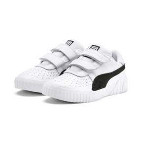Thumbnail 2 of SG x Cali B+W Little Kids' Shoes, Puma White-Puma Black, medium
