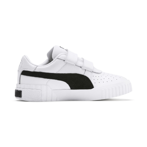 SG x Cali B+W Little Kids' Shoes, Puma White-Puma Black, large
