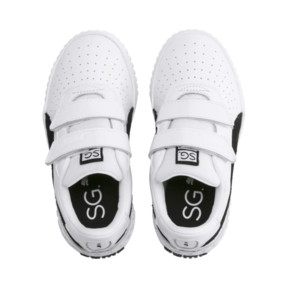 Thumbnail 6 of SG x Cali B+W Little Kids' Shoes, Puma White-Puma Black, medium