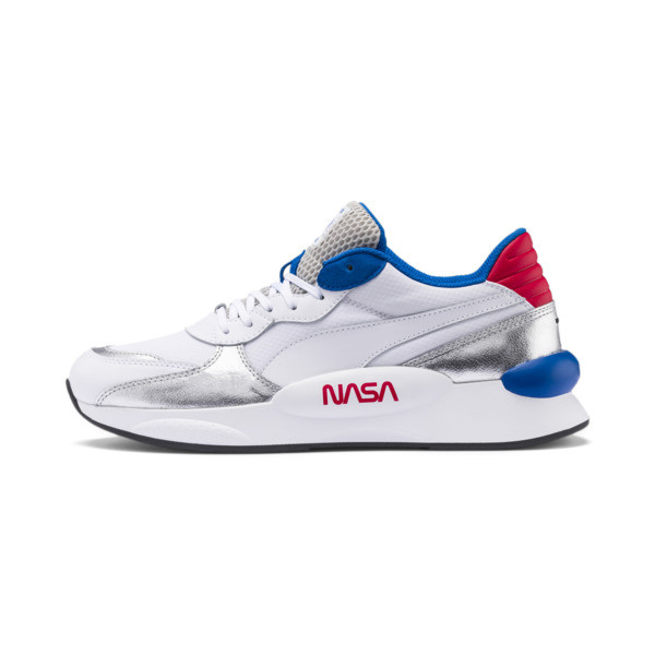 RS 9.8 Space Explorer Trainers, Puma White-Puma Silver, large