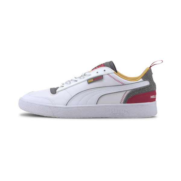 puma x helly hansen ralph sampson sneakers in white, size 11