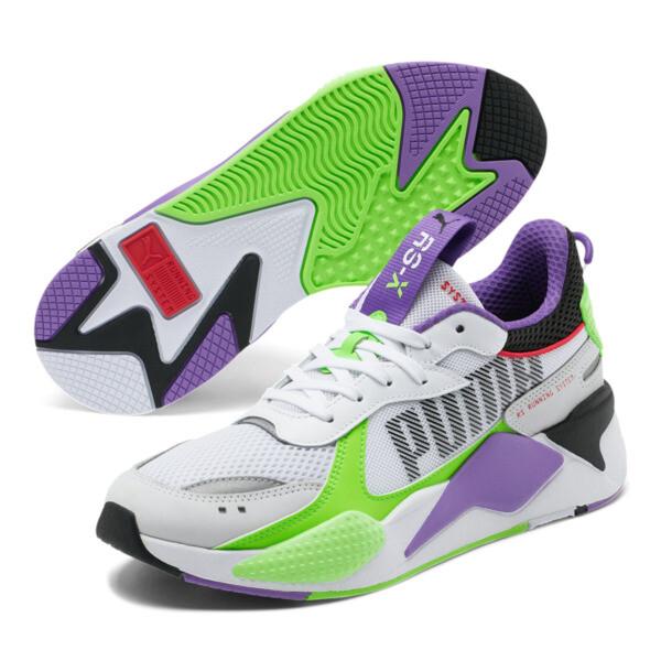 RS-X Bold Sneakers, PWhite-Gr Gecko-Royal Lilac, large
