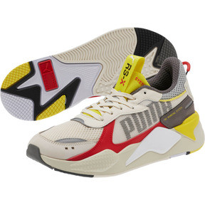 Thumbnail 2 of RS-X Bold Sneakers, Whisper White-High Risk Red, medium