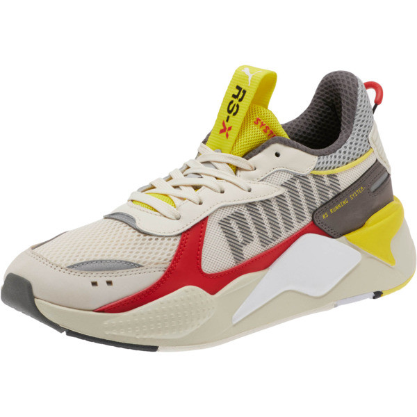 RS-X Bold Sneakers, Whisper White-High Risk Red, large
