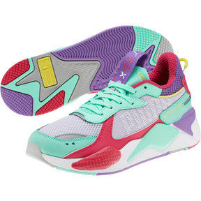 Thumbnail 2 of RS-X Bold Sneakers, PurHeather-GrGlimmer-LPotion, medium