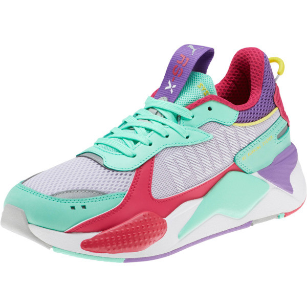 RS-X Bold Sneakers, PurHeather-GrGlimmer-LPotion, large