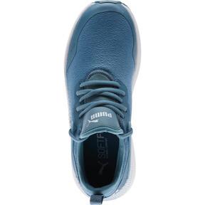 Thumbnail 5 of Pacer Next Cage Glitter Women's Sneakers, Bluestone-Heather-Puma White, medium