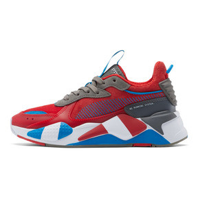 Thumbnail 1 of RS-X Retro Sneakers JR, Hi Ri Red-Ste Gray-In Bunti, medium