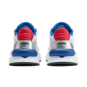 Thumbnail 3 of RS 9.8 Space Explorer Youth Trainers, Puma White-Puma Silver, medium
