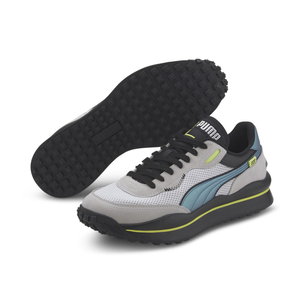 Image PUMA Style Rider Petrol Spill Sneakers #2