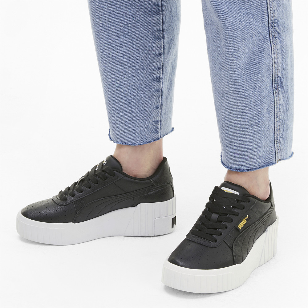 Купить Кроссовки, PUMA - female - Кеды Cali Wedge Wn's – Puma Black-Puma White – 36