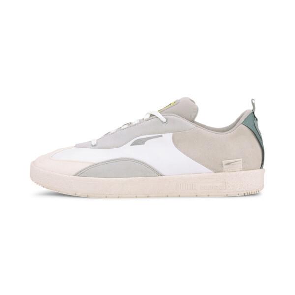 puma x helly hansen oslo-city sneakers in white/glacier grey, size 14